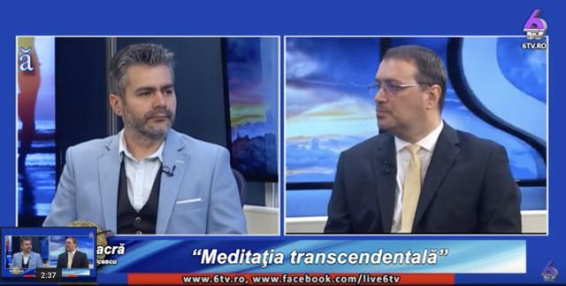 Cu Marius Vornicescu despre Meditația Transcendentală