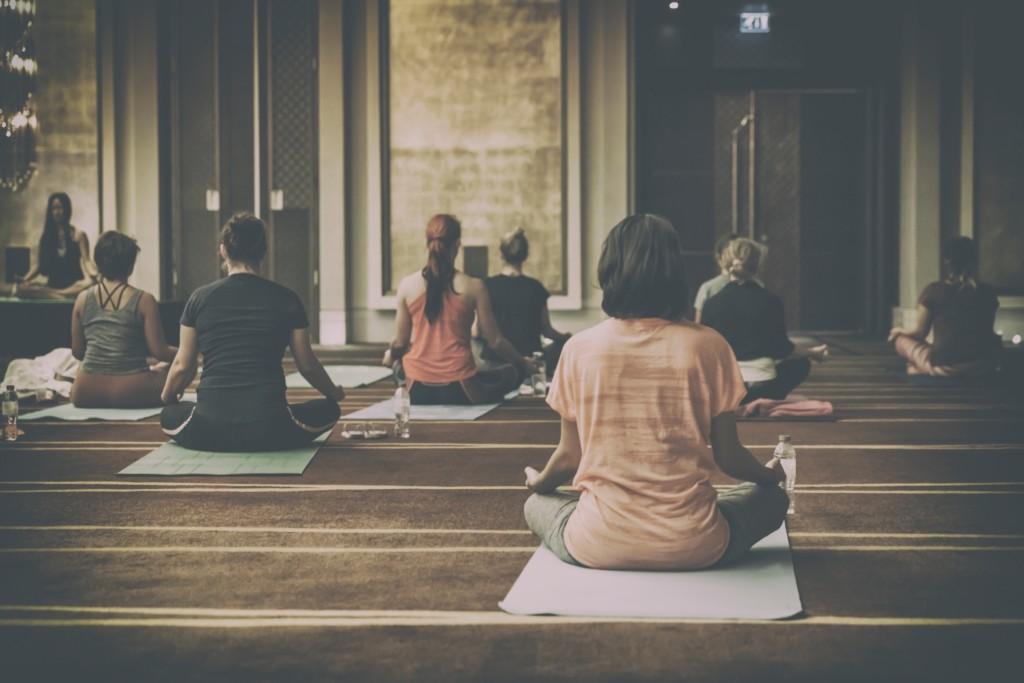 Meditație de grup